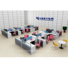 Los muebles al por mayor de la oficina forman la estación de trabajo moderna (HF-YZX056)