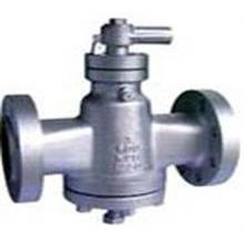 Válvula de tapón lubricada con brida de equilibrio de presión