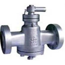 Pressure Balance Flanged Lubricated Plug Valve