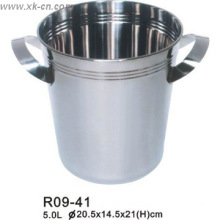 5.0L large ice bottle cooler ice bucket champagne cooler