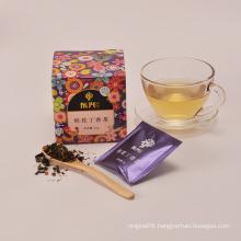 Whitening skin scented tea formula tea green osmanthus flower slimming tea