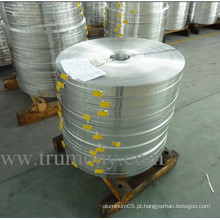 Mill Finished Aluminium / Aluminum Narrow Tape / Belt / Strip para Auto Radiator, Transformer.