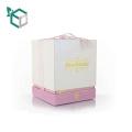 custom silver card material facial mask cosmetic gift packaging box