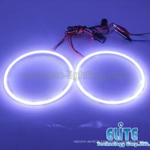 2015 date modèle universel D120MM3528 SMD led ange yeux anneau de halo 6500K pur blanc SMD led lampe