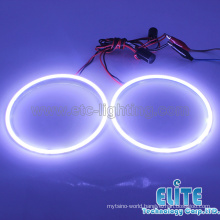 2015 Newest model universal D120MM3528 SMD led angel eyes halo ring 6500K pure white SMD led lamp
