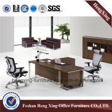 Melamine Office Table L Shape Computer Desk Office Furniture (Hx-nt3218)