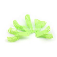Green Dental Instrument Impression Trays
