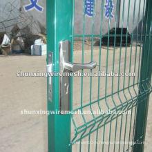 Заводские оцинкованные ворота с ПВХ покрытием