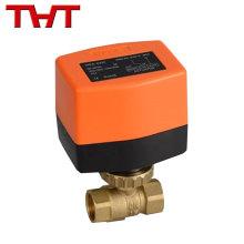Válvula de latón de 1/2 '', 3/4 '' y 1 '' válvula de solenoide de bola de agua caliente / agua fría