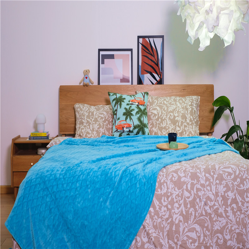 Customized Soft Coral Fleece Blankets