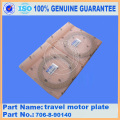 PC400-6 TRAVEL MOTOR PLATE 706-88-90140