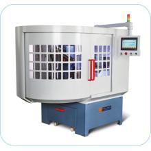 Mlq-300b máquina de pulir de hoja de sierra de ángulo frontal completamente automática (brazo de robot)