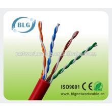 Сеть UTP Ccat5e 0,5 мм Провода кабелей CCA проходят FLUKE