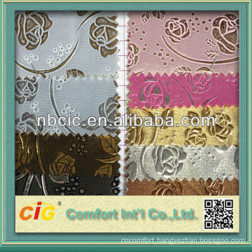 Emboss Flower Syethetic Leather for Sofa and Bag