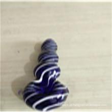 Boa qualidade Tubos de mão azul bom preço para fumar (ES-HP-156)