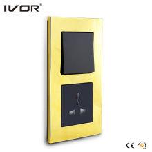Interruptor mecánico y zócalo en la versión Connect