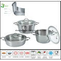 3ply Body Taper Shape All-Clad Cookware Set