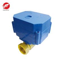 Le contrôle de débit de la vanne d'eau automatique le plus durable