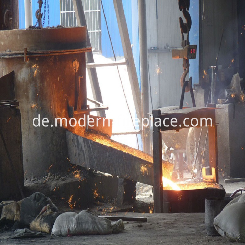 Large Wood Stoves Production