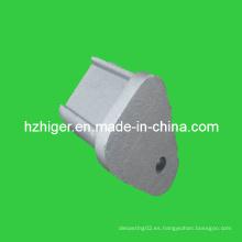 Fundición de arena partes ADC-12 de aluminio fundido de fundición de arena piezas de fundición de material