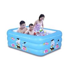 Pequeña piscina infantil de PVC de 150 cm
