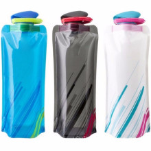 Fashion Flexible Collapsible Foldable Reusable 700ml Drink Water Bottles