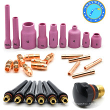 Hot sale air cooled tig welding torch parts with CE