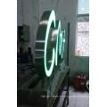 Haute Iluminunce acrylique LED signe d'Alphabet lettres avant acrylique allumé le voyant boîte Lettre
