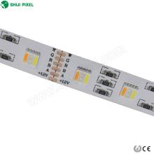Rgbww Flexible couleur changeante led bandes pour l'éclairage décoration