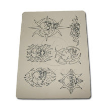 Various Pattern Synthetic Rubber Tattoo Practice Skin Art
