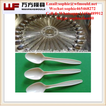China supply quality products 20 cavity plastic spoon mould/spoon mold/plastic spoon molding made in China