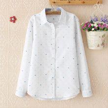 Linen/Cotton Fashion Blouse