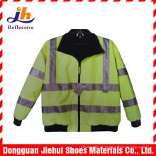 Alta visibilidade reflexiva tráfego aviso vestuário colete de segurança