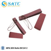 China Supplier alumina abrasive sanding belts About