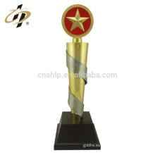 Los trofeos de encargo del metal del oro de los deportes del fútbol de la taza de la aleación de encargo
