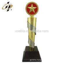 Custom alloy world cup soccer sports gold metal award trophies