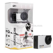 IShare S600W WiFi Ação Sport Camera FHD 1080P 30M impermeável Capacete Vídeo Câmera de Vídeo Mini câmera subaquática cctv