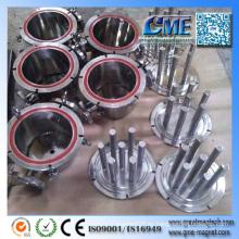 ¿Qué es un programa de separación magnética de separadores de metales no ferrosos?
