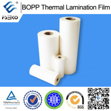 0.83mil Película de laminación térmica BOPP para la industria de la impresión