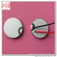 Ultrasonique 15mm Piezoelectric Dual Electrode Ceramic Buzzer