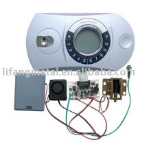Intelligent safe electronic locks panel