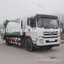 4 * 2 lecteur 5cbm Shacman compresseur camion à ordures / déchets ordures camion / ordures compresseur camion / ordures compacteur / petites ordures