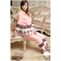 Coral Fleece homewear For Women coral fleece hotel bathrobes For Women