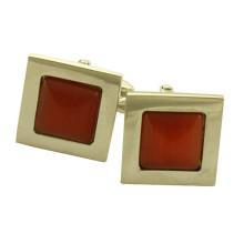 Großhandel kleine MOQ IP Gold Metall Manschettenknopf Leerzeichen für Männer