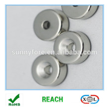 sintered permanent magnet rotor