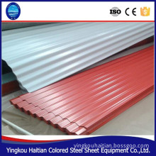 Made in China cheap hard steel sheet clear steel roof tile