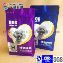 Dimensional Haustierfutter Plastikverpackungsbeutel mit flachem Boden