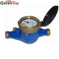 LB Guten top DN25 Output Class B dry type brass Multi jet water meter