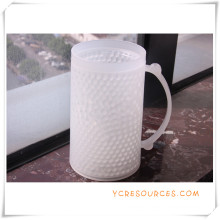 Double Wall Frosty Mug Frozen Ice Beer Mug for Promotional Gifts (HA09075)