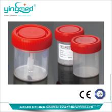 Urin- und Stuhlbehälter mit Graduierung